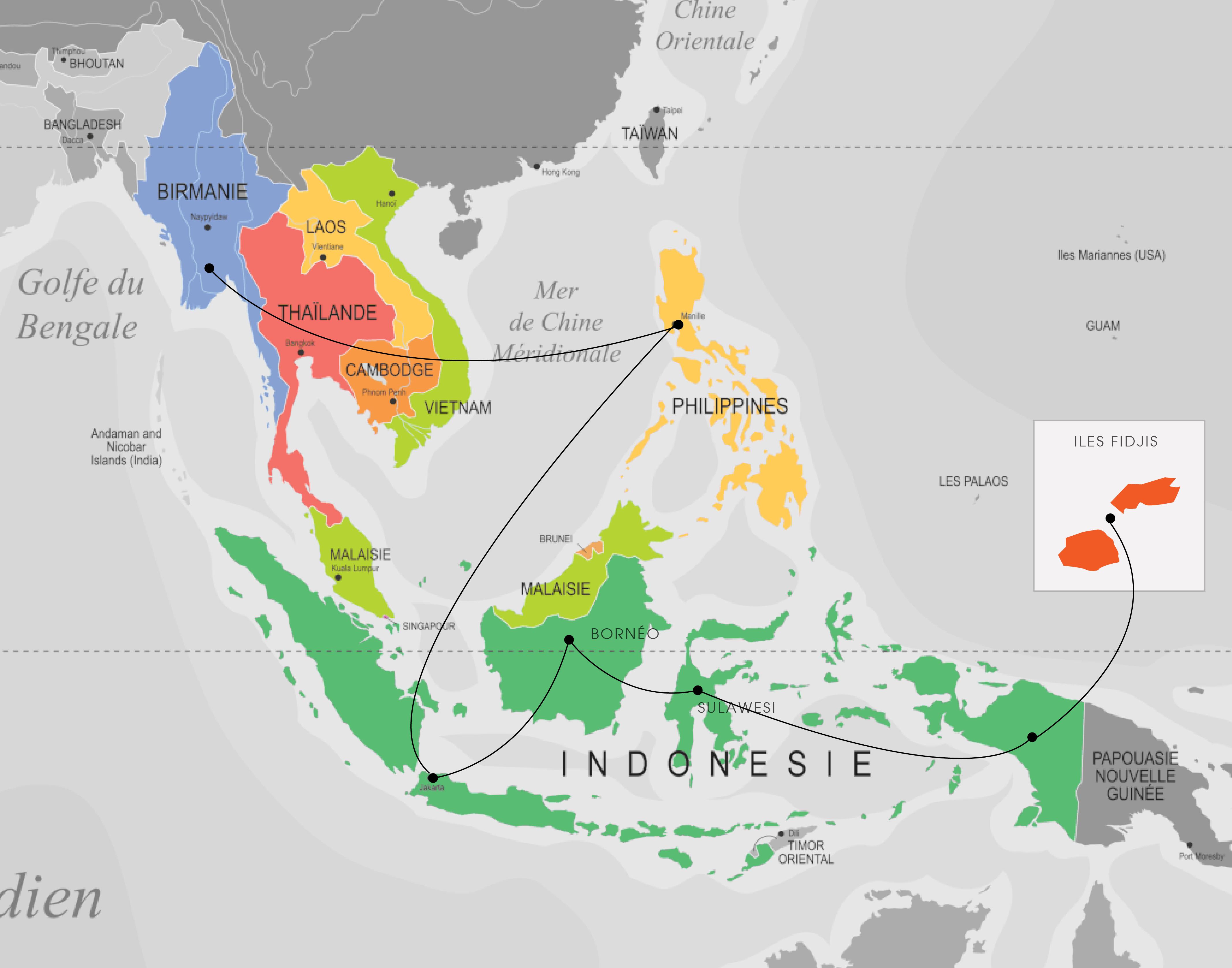 itinéraire-asia-tenggara
