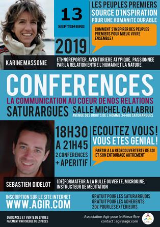flyer de la conference